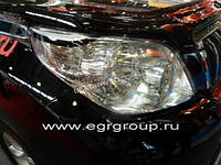 Защита фар прозрачная EGR TOYOTA LC-150 09-13  #239290