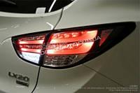 Альтернативная светодиодная оптика задние фонари хром для Hyundai IX 35
