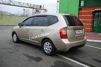 Дефлекторы окон дверей ветровики для Kia Carens New