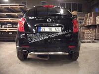 Задняя защита Can otomotiv для Корандо New 2011+