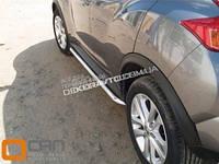 Защита порога Can Otomotiv для Nissan Juke 2010+