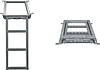 Лестница для фургона выдвижная 3 ступеньки 680*382mm (гарячий цинк)
