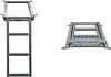 Лестница для фургона выдвижная 3 ступеньки 680*382mm (цинк)