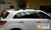 Рейлинги на крышу Can otomotiv для Mitsubishi ASX Черные