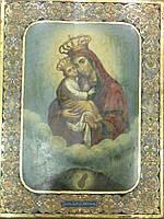 Икона Почаевской Пресвятой Богородицы  19 век