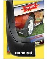 Брызговики передние оригинал для Ford Connect 2006-2009 (2 шт)