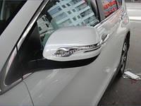 Хром накладки на корпуса зеркал для Honda CR-V 2012+