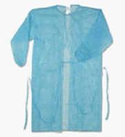 Халат хирургический на завязках дл. 130 см,р. 50-52 (L),спанбонд - 30г/м2, стерильн.,ТК