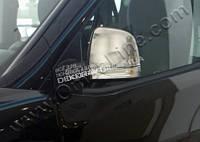 Хром накладки на зеркала (нерж.) 2 шт. Omsa для Fiat Doblo 2010+
