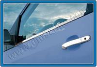 Хром накладки на дверные ручки (нерж.) 4-дверн. для Ford Fiesta 2002-2008