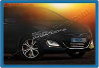 Хром окантовка на противотуманные фонари (нерж.) для Hyundai i30 2012+
