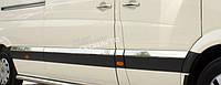 Хром молдинг дверной (нерж.) для Mercedes Sprinter 2007+