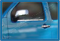 Хром накладки на дверные ручки (нерж.) 4-дверн. для Nissan Navara 2005+