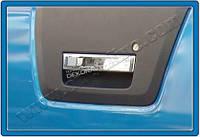 Хром накладка на ручку двери багажника (нерж.)  для Nissan Navara 2005+