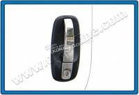 Хром накладки на дверные ручки (нерж.) 4-дверн. для Opel Vivaro 2004+