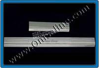 Хром накладки на дверные пороги (нерж.) для Peugeot 407 2005-2011