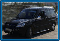 Хром накладки на дверные ручки (нерж.) 4-дверн. для Peugeot Partner 1996-2008