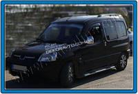 Хром накладки на зеркала (Abs хром.) для Peugeot Partner 1996-2008