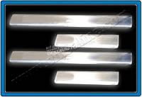 Хром накладки на внутренние пороги (нерж.) для Seat Leon 2000-2009