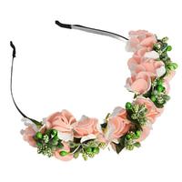 Обруч с цветами. Свадебный, праздничный обруч для волос