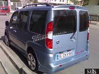 Cпойлер для Fiat Doblo 2001-2009 (распашонка)