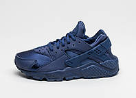 "Кроссовки Nike Air Huarache ""All Navy Blue"", фото 1"