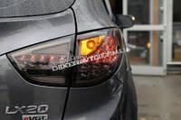 Альтернативная светодиодная оптика задние фонари в стиле Porshe Cayenne для Ix35