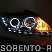 Альтернативная тюнинг оптика передние фары для Kia Sorento R 2010-2012