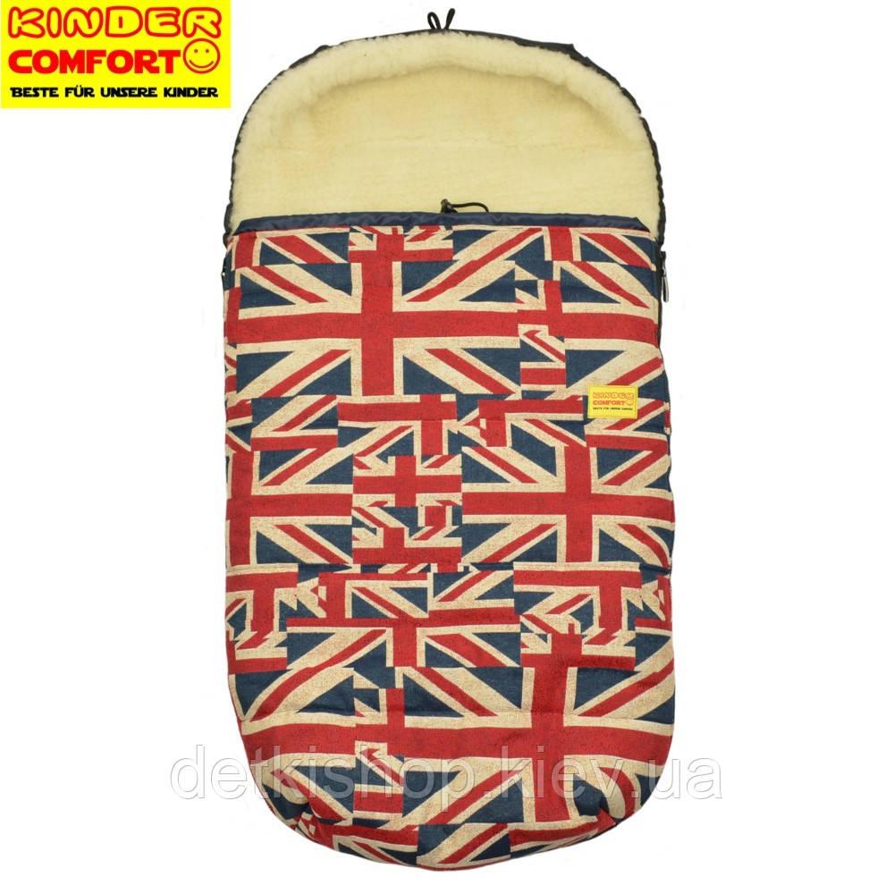 Конверт на овчине Kinder Comfort Drive Fashion Britannia