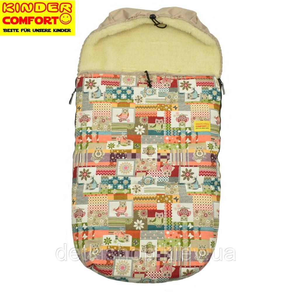 Конверт на овчине Kinder Comfort Drive Fashion Eule