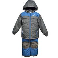 Зимний термокостюм для мальчика 6 лет (куртка, полукомбинезон) р. 116 ТМ PerlimPinpin VH256B