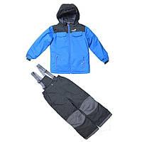 Зимний термокостюм для мальчика 6 лет (куртка, полукомбинезон) р. 116 ТМ PerlimPinpin VH256C