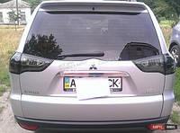 LED оптика Задние фонари для Mitsubishi Pajero Sport 2008+ (хром-тонированная)