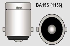 Светодиодная  лампа с обманкой под цоколь  BA15S(1156)(P21W)/BAU15S со светодиода 3535 20W Линза, Белая., фото 2