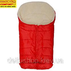 Конверт на овчині Kinder Arctic Comfort Rot (червоний)