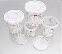 3M™ 50403 - Смесительная емкость с мерной шкалой, стакан для смешивания, 870 мл