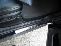 Накладки на пороги Alufrost BMW X5 II (E70) 2006+