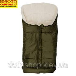 Конверт на овчині Kinder Arctic Comfort Dunkelgrün (темно-зелений)