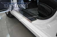 Накладки на пороги Alufrost Hyundai Elantra MD 2012+