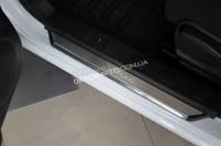Накладки на пороги Alufrost Nissan X-Trail T31 2007-2014