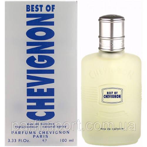 Chevignon Best of Chevignon edt 100 ml туалетная вода мужская (оригинал подлинник  Франция)