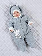 Зимние и демисезонные комбинезоны для новорожденных