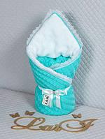 Зимние конверты-одеяла для новорожденных