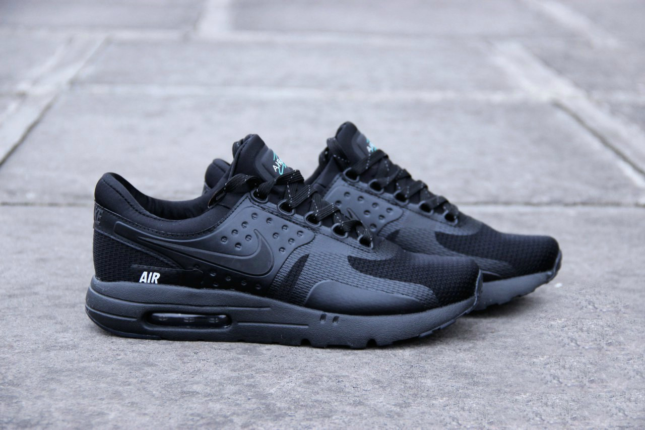 bfc8eb96fc5c Мужские кроссовки Nike Air Max Zero Essential Black(ТОП РЕПЛИКА ААА+) -  Shoes