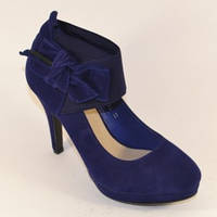 Модельные туфли с бантом