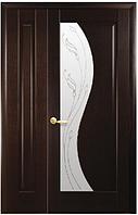 Полуторная (двустворчатая) межкомнатная дверь МАЭСТРА ЭСКАДА, ПВХ DeLuxe