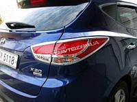 Хром накладки на задние фонари Cromax для Hyundai Tucson IX 35