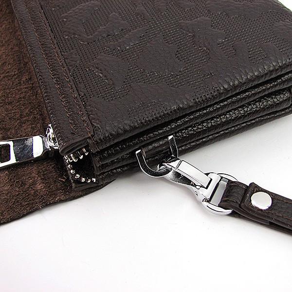 2755fece6cdd Клатч кожзам мужской clutch коричневый Jaguar 1207-3 - купить по ...