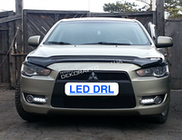 DRL штатные дневные ходовые огни LED- DRL для Lancer X 2007-2011