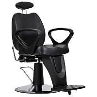 Мужское парикмахерское кресло B-18 черное